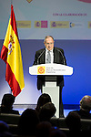 """Jose Luis Bonet during the 6th edition of the collecting badges to the new ambassadors fees """"Marca España"""" in his 6th edition at BBVA City in Madrid, November 12, 2015.<br /> (ALTERPHOTOS/BorjaB.Hojas)"""