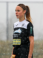 Daisy Baudewijns (30) of Eendracht Aalst  pictured during a friendly female soccer game between SC Eendracht Aalst and Club Brugge YLA on Saturday 16 January 2021 at Zandberg Youth Complex in Aalst , Belgium . PHOTO SPORTPIX.BE   SPP   SEVIL OKTEM