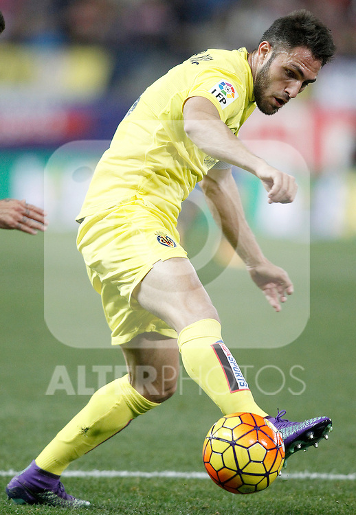 Villareal's Victor Ruiz during La Liga match. February 21,2016. (ALTERPHOTOS/Acero)