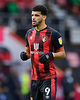 Dominic Solanke of AFC Bournemouth during AFC Bournemouth vs Reading, Sky Bet EFL Championship Football at the Vitality Stadium on 21st November 2020