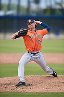Houston Astros pitcher Chris Nunn (62) during a Minor League Spring Training Intrasquad game on March 28, 2018 at FITTEAM Ballpark of the Palm Beaches in West Palm Beach, Florida.  (Mike Janes/Four Seam Images)