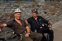 Großbritannien, Wales, ehemalige Kohlemine Rhondda Heritage Park, Bergmann.coal mine Rhondda Heritage Park