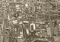 historical aerial photograph Princeton, Mercer County New Jersey, 1953