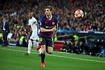 UEFA Champions League 2018/2019.<br /> Quarter-finals 2nd leg.<br /> FC Barcelona vs Manchester United: 3-0.<br /> Sergi Roberto.