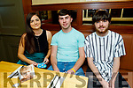 Chantelle Murphy, Chris Kelly and Ivan Murphy enjoying the evening in the Mall Tavern on Friday