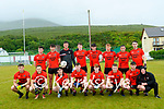 Wk27 The Glenbeigh/Glencar team which lined out against Na Gaeil team in the 10pt to 1-7 draw in Glenbeigh on Sunday