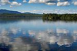 Moosehead Lake with cloud reflection