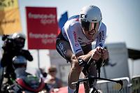 Ben O'Connor (AUS/AG2R Citroën)<br /> <br /> Stage 20 (ITT) from Libourne to Saint-Émilion (30.8km)<br /> 108th Tour de France 2021 (2.UWT)<br /> <br /> ©kramon