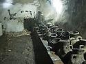 Iraq 2011 <br /> Amphoras with oil in the main shrine of Lalesh   <br /> Irak 2011  <br /> Amphores remplies d'huile dans le sanctuaire principal de Lalesh