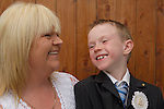 24-05-06 - Loretta and son Stephen Martin photographed at their home in Dundalk...Photo:Barry Cronin/Newsfile.