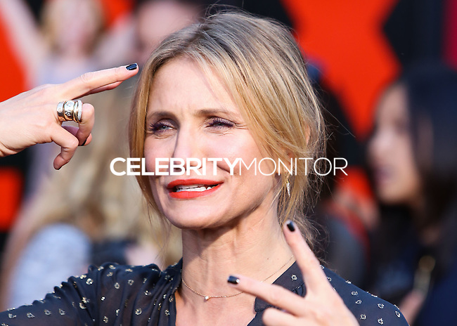 WESTWOOD, LOS ANGELES, CA, USA - JULY 10: Actress Cameron Diaz arrives at the World Premiere Of Columbia Pictures' 'Sex Tape' held at the Regency Village Theatre on July 10, 2014 in Westwood, Los Angeles, California, United States. (Photo by Xavier Collin/Celebrity Monitor)
