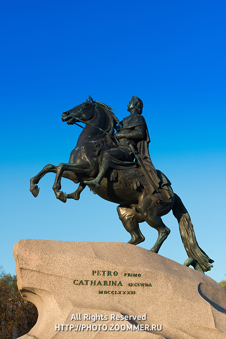 The Bronze Horseman – The Monument To Emperor Peter The Great, St Petersburg