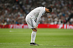 Real Madrid's Cristiano Ronaldo during quarterfinal second leg Champions League soccer match at Santiago Bernabeu stadium in Madrid, Spain. April 22, 2015. (ALTERPHOTOS/Victor Blanco)