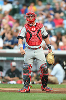 Chris Betts (26) of Wilson High School in Long Beach, California during the Under Armour All-American Game on August 16, 2014 at Wrigley Field in Chicago, Illinois.  (Mike Janes/Four Seam Images)