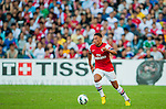 Alex Oxlade-Chamberlain of Arsenal FC in action during the pre-season Asian Tour friendly match against Kitchee FC at the Hong Kong Stadium on July 29, 2012. Photo by Victor Fraile / The Power of Sport Images