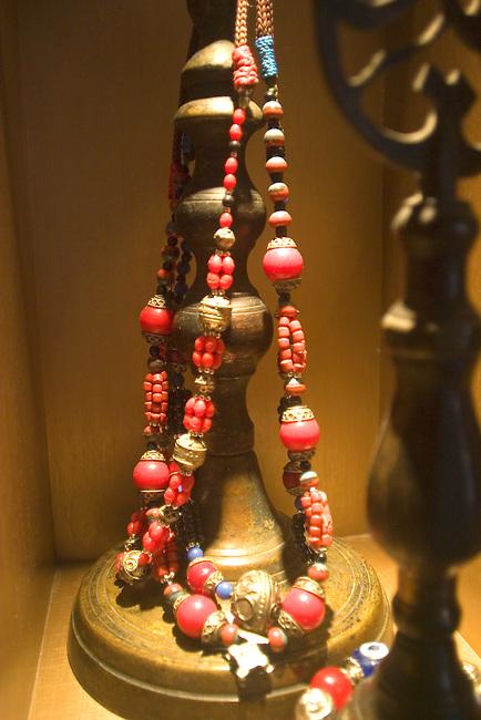 Beaded Ornament, Kazan Restaurant, Belgrovia, London, Great Britain, Europe