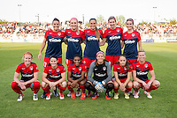 Boyds, MD - May 7, 2016: The Washington Spirit tied the Portland Thorns during their National Womens Soccer League (NWSL) match at the Maryland SoccerPlex.