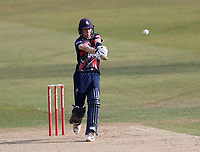 Jordan Cox bats for Kent during Kent Spitfires vs Middlesex, Vitality Blast T20 Cricket at The Spitfire Ground on 16th September 2020