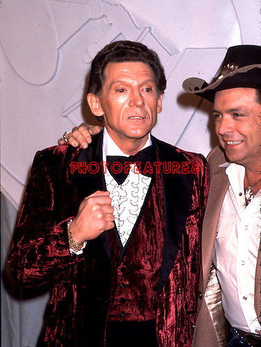 Jerry Lee Lewis & Mickey Gilley 1982 Frammy Awards.