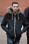 © Joel Goodman - 07973 332324 . REHAN ALI pictured arriving at Bury Magistrates Court on 3rd March 2015 as today (4th February 2016) he is one of ten men convicted of serious sexual offences in Rochdale between 2004 and 2008 , as part of Operation Doublet , an investigation into child sexual exploitation in the region . The convictions relate to offences committed against eight victims who were aged between 13 and 23 at the time of the abuse . Photo credit : Joel Goodman
