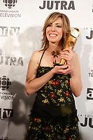 Celine Bonnier, winner Jutra - Best Actress for <br /> <br /> Gagnate Jutra - Meilleure actrice pour DÈLIVREZ MOI<br /> <br /> <br /> photo : Pierre Roussel (c)  Images Distribution