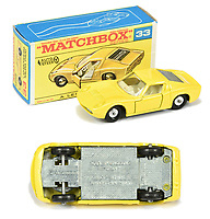 BNPS.co.uk (01202 558833)<br /> Pic: Vectis/BNPS<br /> <br /> Pictured:  Matchbox Regular Wheels 33c Lamborghini Miura P400<br /> <br /> One man's vast collection of model cars amassed over a lifetime has sold at auction for an incredible £250,000.<br /> <br /> Simon Hope, 68, has been collecting matchbox models since he was a small child and has bought over 4,000 over the past six decades.<br /> <br /> His hobby has cost him thousands of pounds and at and engulfed a huge slice of his life but he has now decided to part with the toys