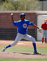 Miguel Sierra -  Chicago Cubs - 2009 extended spring training.Photo by:  Bill Mitchell/Four Seam Images