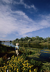 Fly fishing on the Bighorn River in Montana