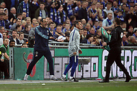 Chelsea Manager Maurizio Sarri reacts as Kepa Arrizabalaga of Chelsea refuses to be substituted during the Carabao Cup Final match between Chelsea and Manchester City at Stamford Bridge on February 24th 2019 in London, England. (Photo by Paul Chesterton/phcimages.com)<br /> Foto PHC Images / Insidefoto <br /> ITALY ONLY