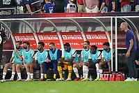 NASHVILLE, TN - SEPTEMBER 5: The USMNT bench during a game between Canada and USMNT at Nissan Stadium on September 5, 2021 in Nashville, Tennessee.