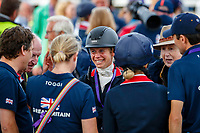 GBR-Izzy Taylor during the Prizegiving. 2021 SUI-FEI European Eventing Championships - Avenches. Switzerland. Sunday 26 September 2021. Copyright Photo: Libby Law Photography