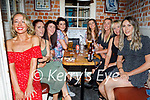 Enjoying the evening in Sean Og's on Saturday, l to r: Aileen Godley, Miriam Downey, Laura Donegan, Christine Dineen, Susan Horgan, Sam Drury, Julianne Dowling and Marie Russell.