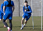 St Johnstone Training...19.03.21<br />Scott Tanser pictured during training at McDiarmid Park ahead of tomorrows game against Ross County.<br />Picture by Graeme Hart.<br />Copyright Perthshire Picture Agency<br />Tel: 01738 623350  Mobile: 07990 594431