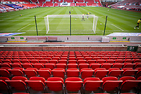 31st October 2020; Bet365 Stadium, Stoke, Staffordshire, England; English Football League Championship Football, Stoke City versus Rotherham United; Empty seats at the Bet365 Stadium due to the pandemic