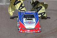Feb 22, 2015; Chandler, AZ, USA; NHRA funny car driver Robert Hight during the Carquest Nationals at Wild Horse Pass Motorsports Park. Mandatory Credit: Mark J. Rebilas-