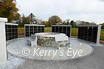 the new columbarium in Kilcummin graveyard