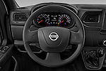Car pictures of steering wheel view of a 2020 Nissan NV400-Tipper Acenta 2 Door Chassis Cab Steering Wheel