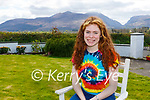 Laura Whelton Fossa who shaved her head for the Kerry Rape Crisis Centre at her home on Tuesday