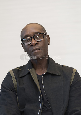 "Don Cheadle, who stars in 'Avengers: Endgame"", at the InterContinental Hotel in Los Angeles. Credit: Magnus Sundholm/Action Press/MediaPunch ***FOR USA ONLY***"