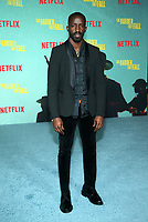 LOS ANGELES, CA - OCTOBER 13: Elijah Kelley, at the Special Screening Of The Harder They Fall at The Shrine in Los Angeles, California on October 13, 2021. Credit: Faye Sadou/MediaPunch