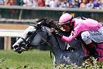 June 26, 2021: Next, #8, ridden by jockey John Velazquez, wins the War Chant Stakes for three-year-olds on the turf at Churchill Downs on June 26, 2021 in Louisville, Kentucky. Candice Chavez/Eclipse Sportswire/CSM