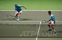 Rotterdam, The Netherlands, 17 Februari 2019, ABNAMRO World Tennis Tournament, Ahoy, final, doubles, Jean-Julien Rojer (NED) / Horia Tecau (ROU),<br /> Photo: www.tennisimages.com/Henk Koster