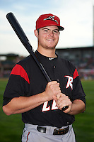 Richmond Flying Squirrels third baseman Christian Arroyo (22) poses for a photo before a game against the Erie SeaWolves on May 27, 2016 at Jerry Uht Park in Erie, Pennsylvania.  Richmond defeated Erie 7-6.  (Mike Janes/Four Seam Images)