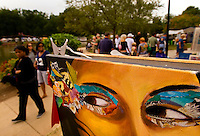 Artwork on display and for sale at the Festival in the Park.  For more than four decades, Charlotte's annual Festival in the Park has brought music, art and fun to Charlotteans and visitors. The festival has been chosen as one of Sunshine Artists Magazine's 200 Best Festivals.