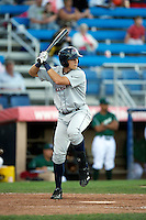Hudson Valley Renegades designated hitter Richie Shaffer #28 during the first game of a double header against the Jamestown Jammers at Russell Diethrick Park on August 6, 2012 in Jamestown, New York.  Hudson Valley defeated Jamestown 4-2.  (Mike Janes/Four Seam Images)