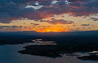 Sunset on Lake Pueblo,  June 2014. 85185