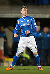 St Johnstone v Aberdeen…22.04.16  McDiarmid Park, Perth<br />Michael Doyle<br />Picture by Graeme Hart.<br />Copyright Perthshire Picture Agency<br />Tel: 01738 623350  Mobile: 07990 594431