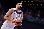 Real Madrid's Felipe Reyes during Turkish Airlines Euroleague match between Real Madrid and Crvena Zvezda Mts Belgrade at Wizink Center in Madrid, Spain. March 10, 2017. (ALTERPHOTOS/BorjaB.Hojas)