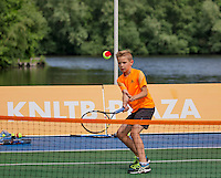 Den Bosch, Netherlands, 08 June, 2016, Tennis, Ricoh Open, KNLTB, Kidsday<br /> Photo: Henk Koster/tennisimages.com