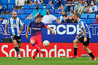 12th September 2021: Barcelona, Spain:  Koke of Atletico de Madrid during the Liga match between RCD Espanyol and Atletico de Madrid at RCDE Stadium in Cornella, Spain.